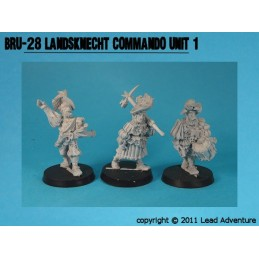 BRU-28 Commandement lansquenet