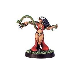 CLT-501 Morrigan prêtresse du dieu cornu