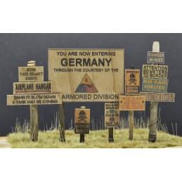 Panneaux indicateurs USA