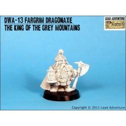 DWA-13 Fargrim Dragonaxe, le roi des montagnes grises