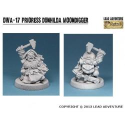 DWA-17 La prêtresse Dunhilda Moondigger