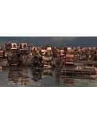Pirates-Village lacustre
