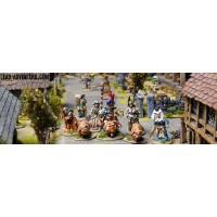 Figurines renaissances/fantastiques