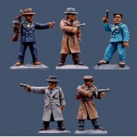 Pulp Figurines gangsters