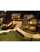 Bâtiments, décors et figurines