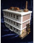 Bâtiments et figurines XIXe/contemporains/Steampunk